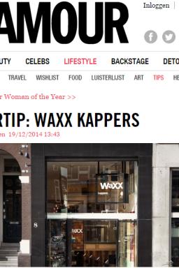 Website Glamour NL