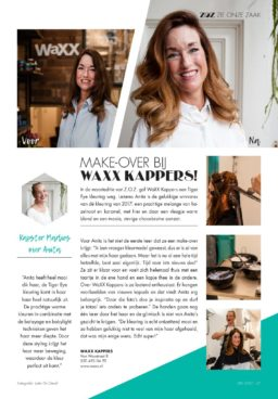 Zie Oud Zuid mei 2017 - Make over door Marlies