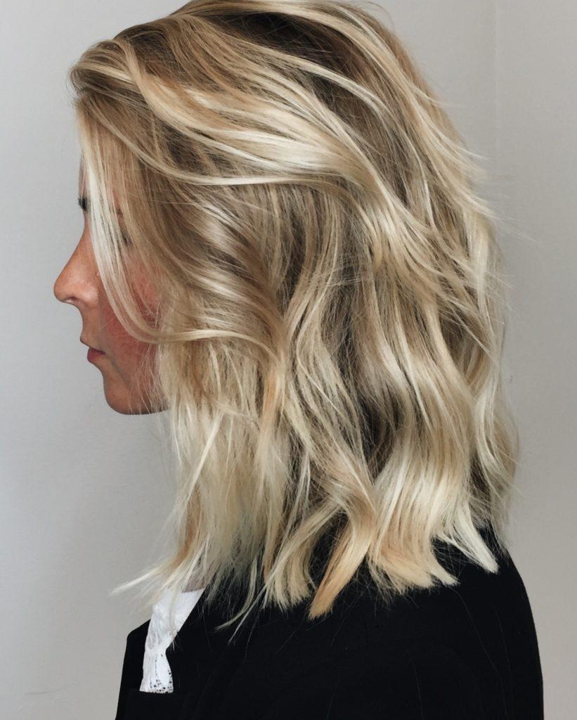 Balayage, blond