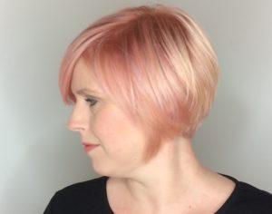 Pink, Roze, Rose, Gold, Star Colorist, L'Oréal Professionnel, kleurspecialist, Joyce, Waxx Kappers Apeldoorn, beste kleurspecialist van Apeldoorn, haarkleur, haar verven